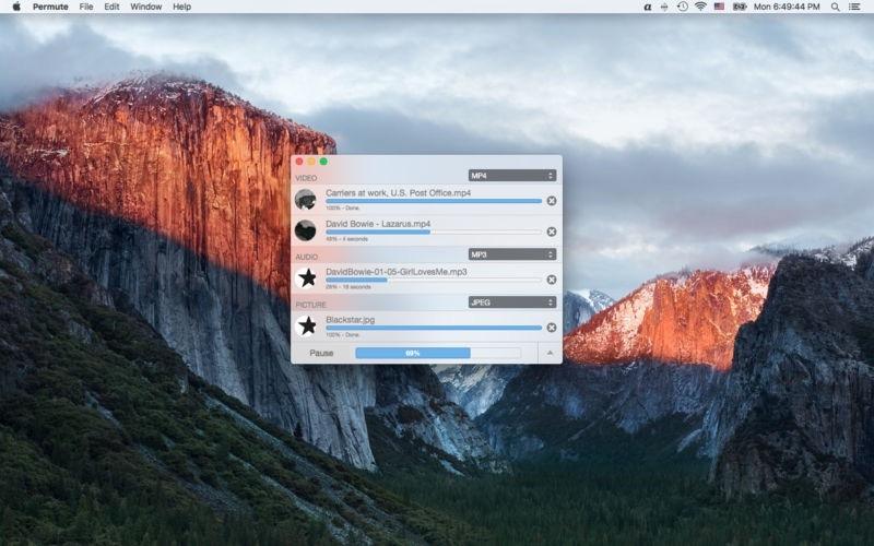 Permute 3.5.5 小巧便捷的多媒体文件格式转换器-马克喵