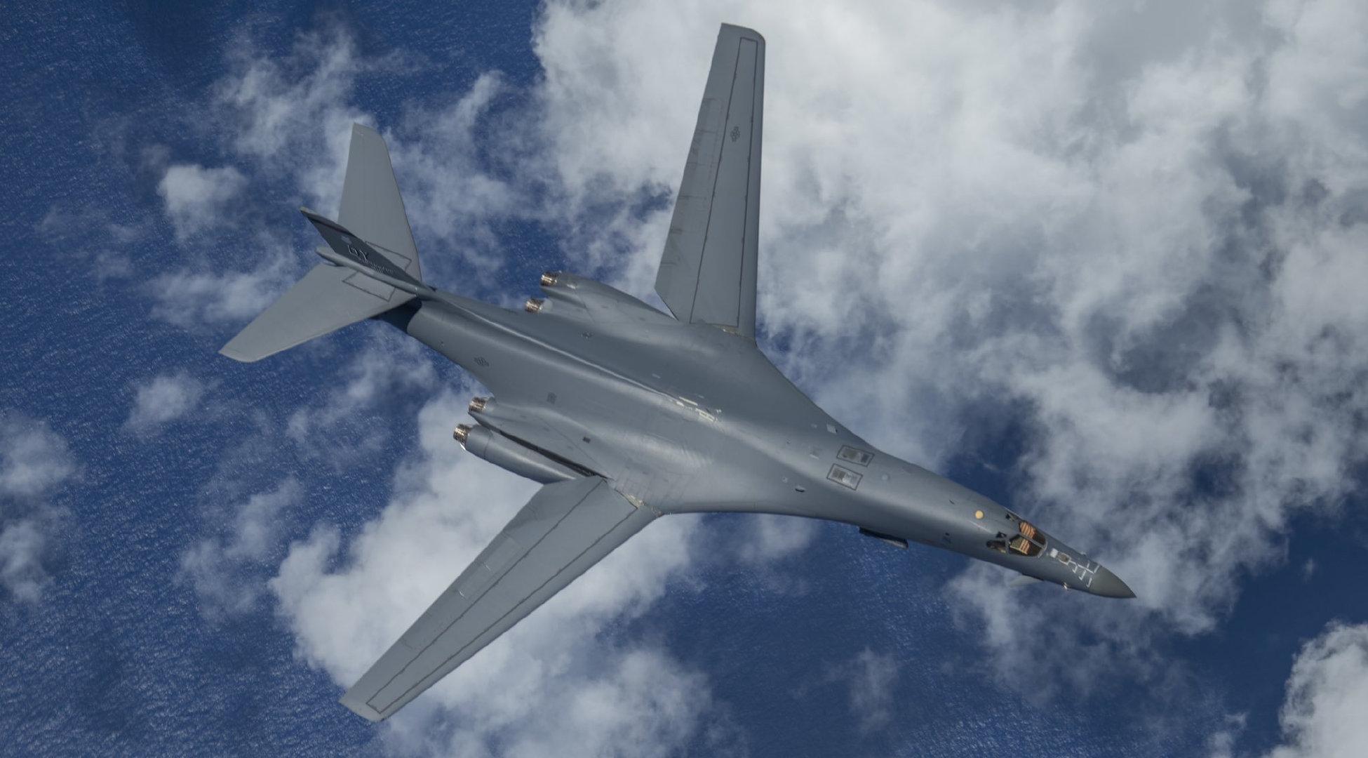 B1b轰炸机是个纸老虎,S-400防空导弹虽然打不到,但它就是活靶子
