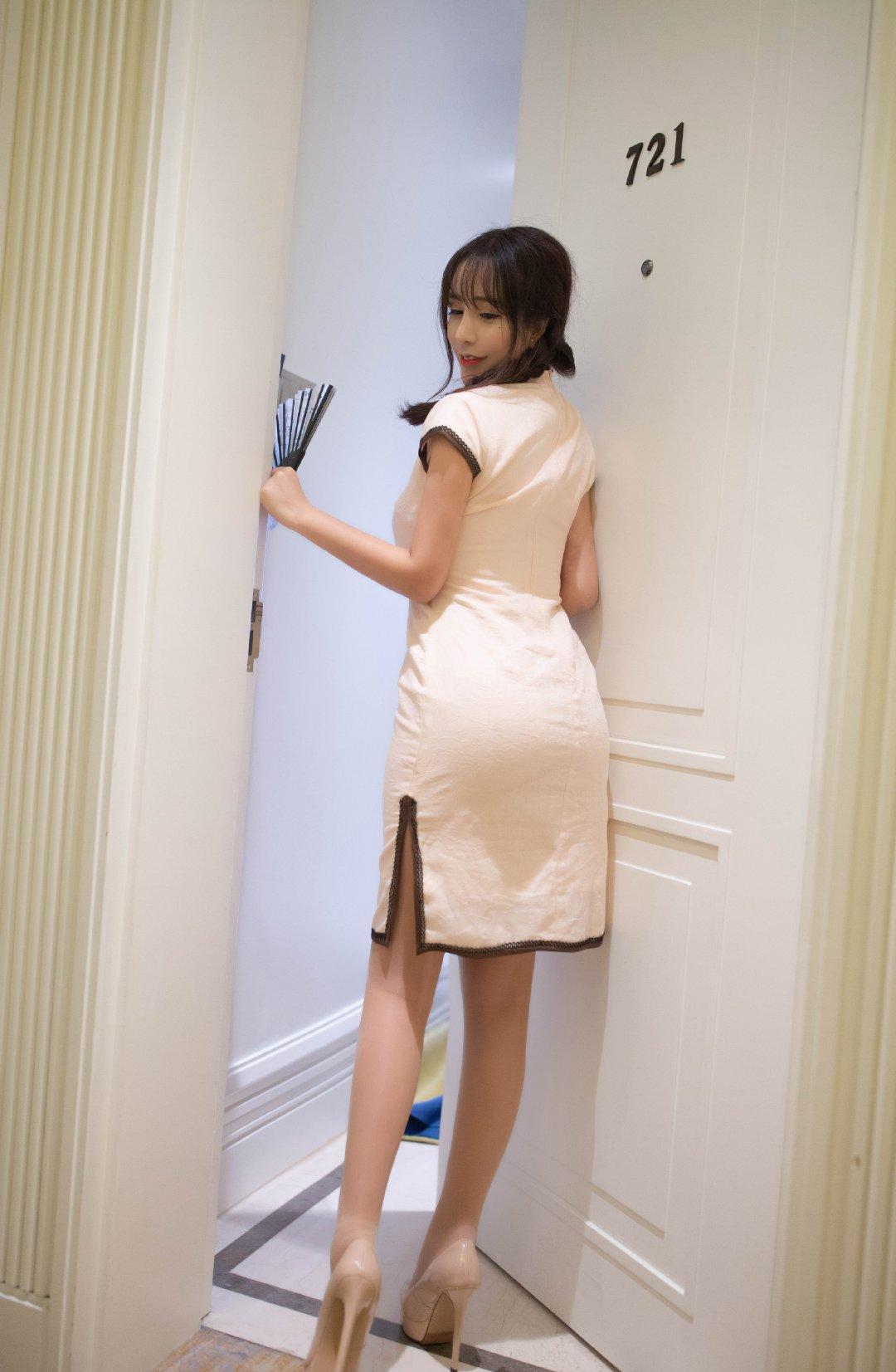 模特陶喜乐_lele韵味旗袍写真 第5张