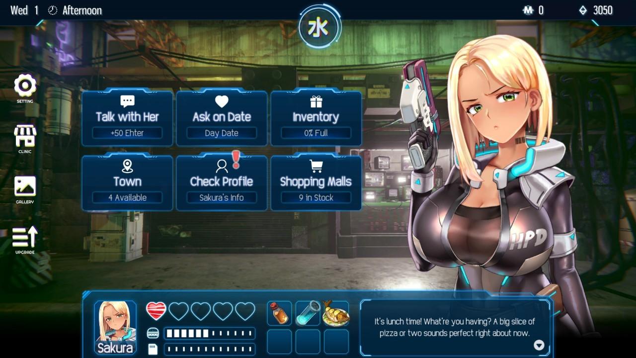 Steam成人新作《Cyber Crush 2069》极好评上市,只要白菜价且Bug没那么多插图7