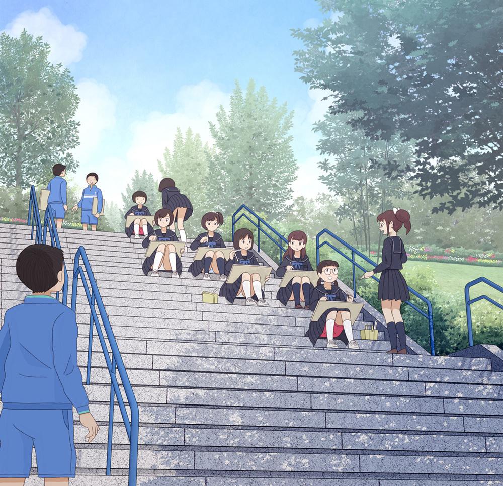 大家来找茬!绘师创作《高中生的青春期》眼尖网友发现:男生好色?插图9