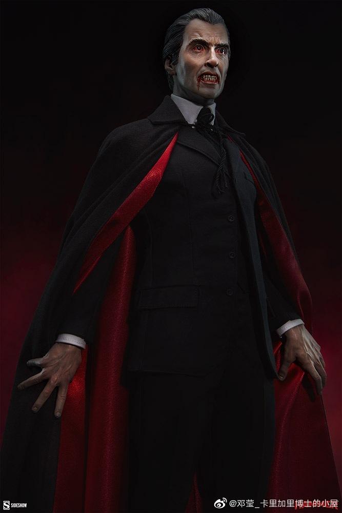 影视资讯300295接单 Sideshow22.25寸1958电影Dracula吸血鬼德古拉伯爵 影视资讯 第1张
