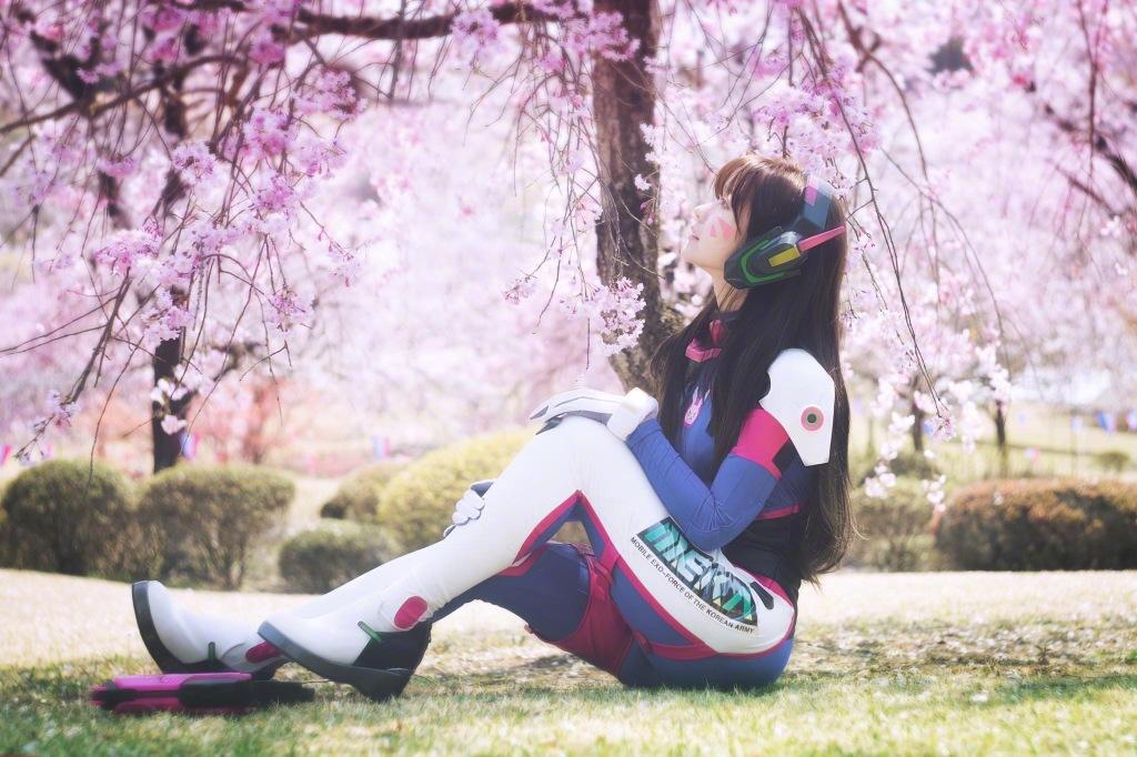 Yurisa守望先锋cosplay