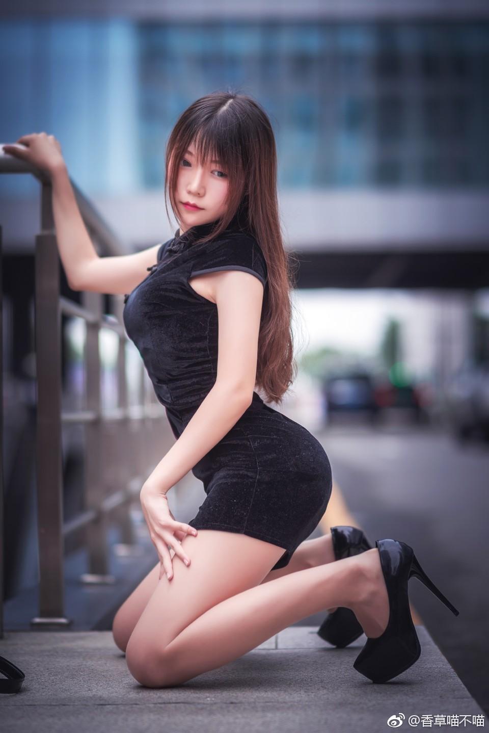 今日微博妹子图推荐@香草帕帕 小黑兔的日常