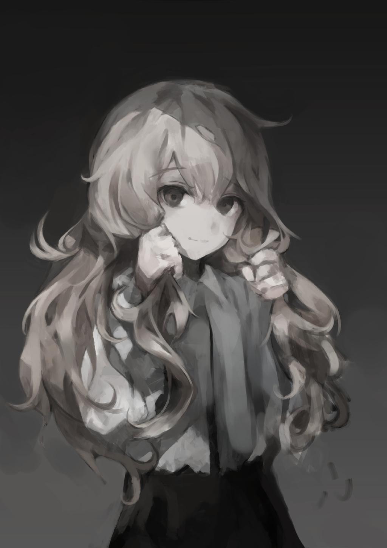 【P站画师】灰色心情,韩国画师gyup的插画作品-