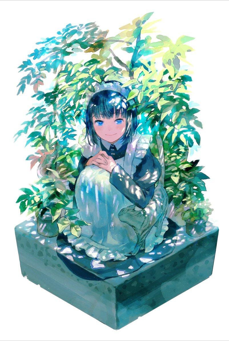 《吃货女仆》的作者日本画师前屋 進的插画作品鉴赏【xinacg.com】