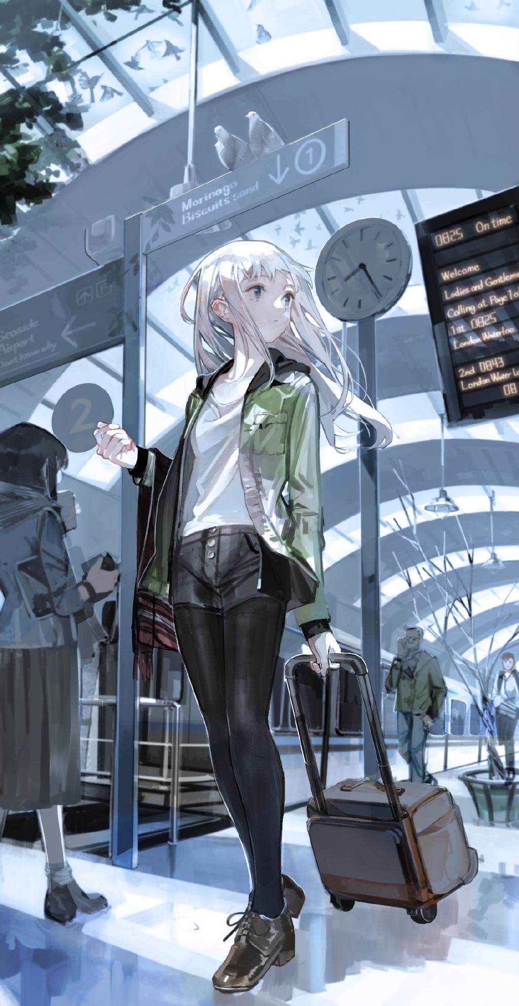 【P站画师】清爽可爱的女孩子们!日本画师あすぱら的插画作品- ACG17.COM