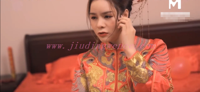 MD0117麻豆传媒[迷新婚夜的嫂子],张芸熙新郎喝醉弟弟与准大嫂插图