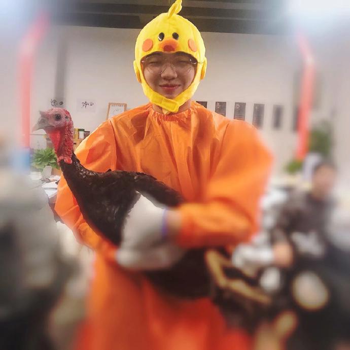 您的鸡到了,请签收!手游公司感恩节向画师送上火鸡—活的...- ACG17.COM