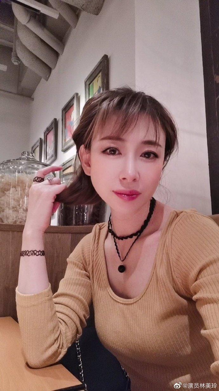 台湾女艺人林美玲开微博了