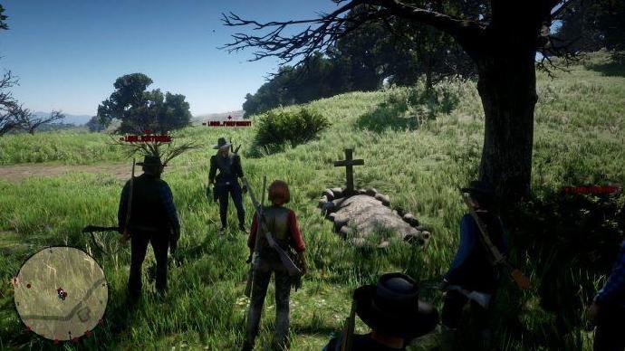 与《荒野大镖客OL》玩家帮派共度的一天