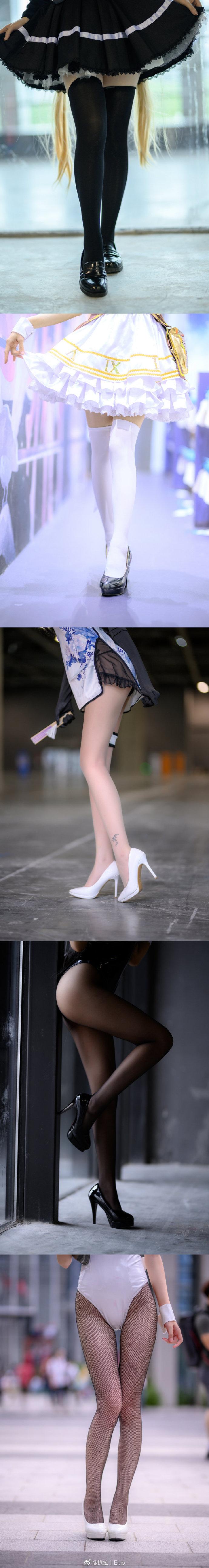 萤火虫漫展摄影合集,满屏大长腿