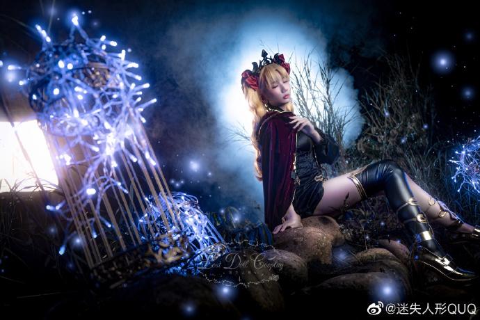 Cosplay艾蕾什基伽尔 华美的冥界女神 cosplay 美女cos 第2张