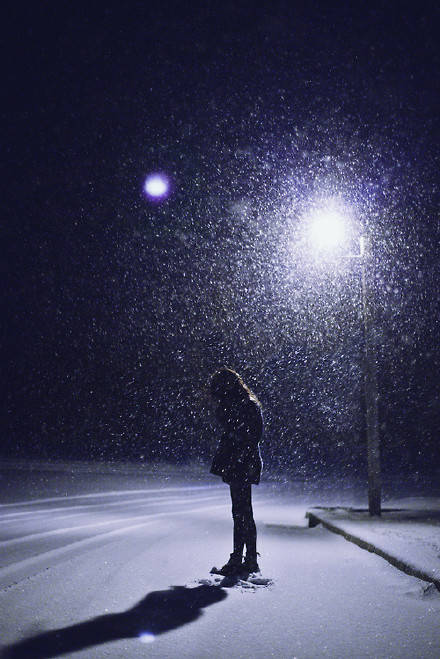 晚安心语160809:抖落身上的灰雨,重披一声星光