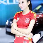 韩国超级车模桌球视频图片,2015上海车展取消车模图片
